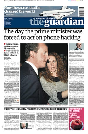 Hacking fronts 7 July: The Guardian