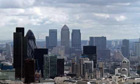 London's City financial district
