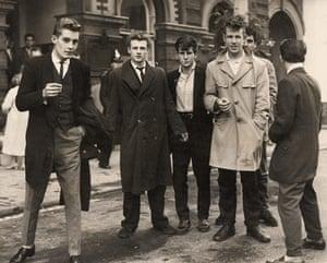The 10 best: Teddy Boys Teddy Boys In The Street In Derbyshire Village Of Sandiacre