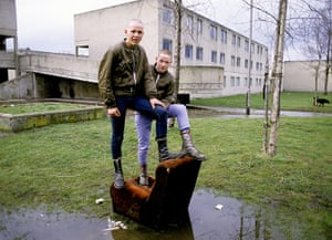 The 10 best: Young skinheads on the Dunstan Estate, Newcastle Upon Tyne