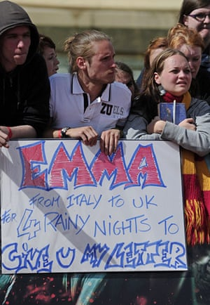 Harry Potter 8 premiere: Harry Potter fans