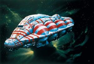 Chris Foss: Design for Alien spaceship