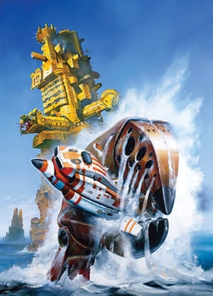 Chris Foss Claws Painting