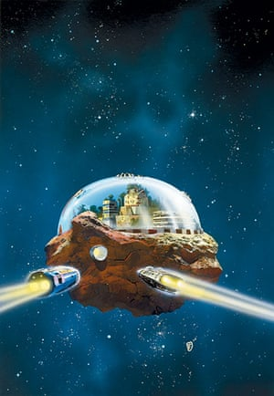 Chris Foss: Painting of Pebble in the Sky