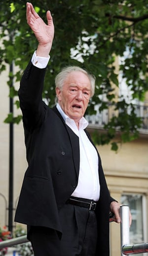 Harry Potter 8 premiere: Michael Gambon at the Harry Potter premiere