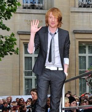 Harry Potter 8 premiere: Domhnall Gleeson