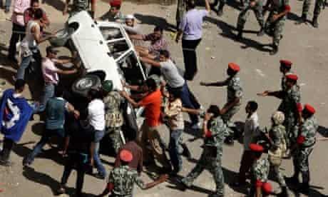 Suez demonstration