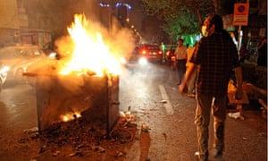 Unrest in Tehran