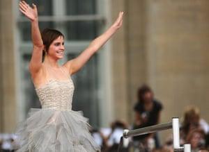 Harry Potter 8 premiere: Emma Watson