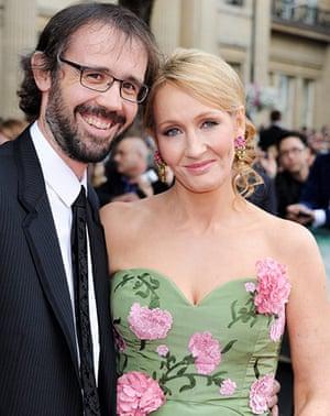 Harry Potter 8 premiere: JK Rowling and husband Neil Murray