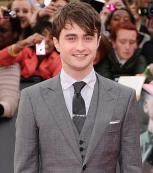 Harry Potter 8 premiere: Daniel Radcliffe