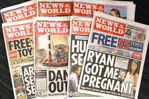 News of the World Update: A selection of News of the World papers