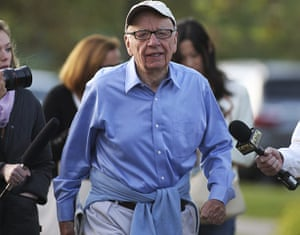 News of the World Update: Rupert Murdoch, Australian chairman and chief executive of News Corporation