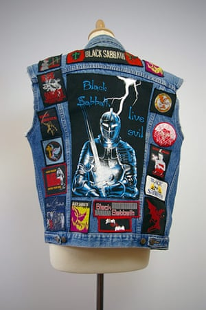 Home of Metal: Black Sabbath denim jacket