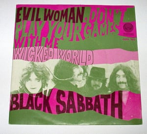 Home of Metal: Black Sabbath record sleeve
