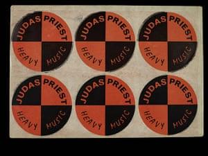 Home of Metal: Judas Priest stickers