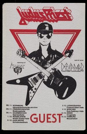 Home of Metal: Judas Priest guest pass