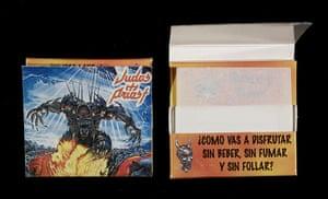 Home of Metal: Judas Priest cigarette papers.