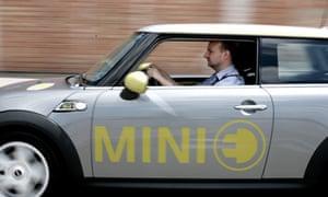 Leo Hickman test drives the Mini E.