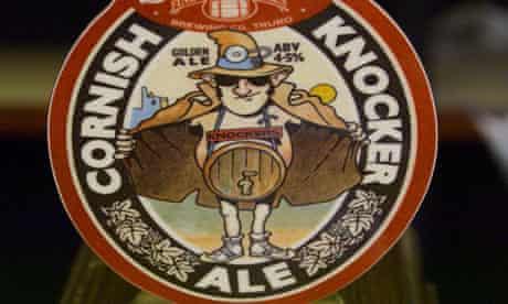 Pumpclip for Cornish Knocker Ale