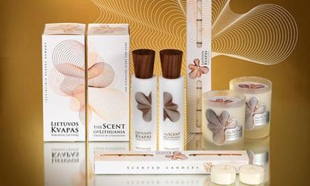 Lietuvos kvapas, the scent of Lithuania