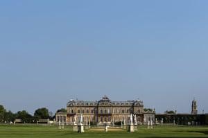 Wrest park: The 18th Century mansion at Wrest Park