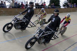 Herne Hill Velodrome: International Cycle Racing Meeting