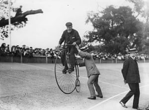 Herne Hill Velodrome: Penny Farthing Race