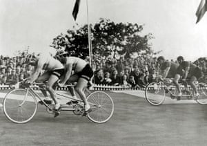 Herne Hill Velodrome: Sport Cycling. 1948 Olympic Games. Herne Hill, England. August 1948.