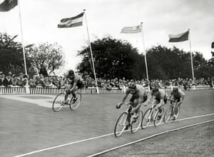 Herne Hill Velodrome: Sport. Cycling. 1948 Olympic Games. Herne Hil
