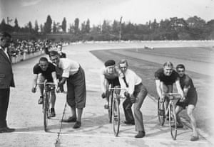 Herne Hill Velodrome: Sprint Cyclists Herne Hill in 1929