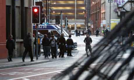 Disturbances in Manchester