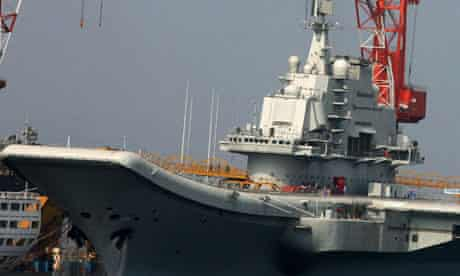 varyag china aircraft carrier