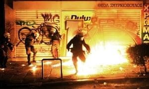 Athens riots 2008