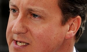 David Cameron has said police can use water cannon at 24 hours notice as the England riots continue