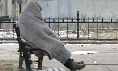 Homeless person, Washington DC