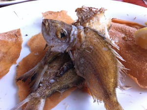 Week in pics: Cullum: Fried fish in The Lebanon
