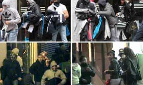 Disturbances across the UK
