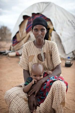 Dadaab camp, Kenya: Habiba Ibrahim Iftin Dadaab camp, Kenya