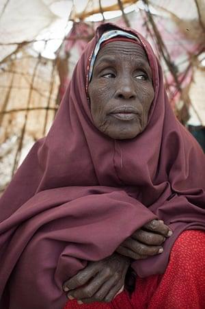 Dadaab camp, Kenya: Halima Iman Ahmed Dadaab camp, Kenya