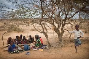 Dadaab camp, Kenya: Koranic school Dadaab camp, Kenya