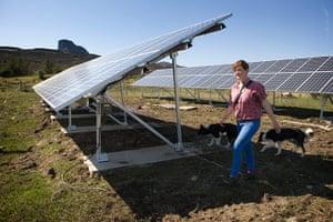 Sarah Boden: photovoltaic cells
