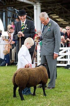 Prince Charles: Prince Charles At the Great Yorkshire Show