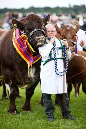 Prince Charles: Livestock at the Great Yorkshire Show