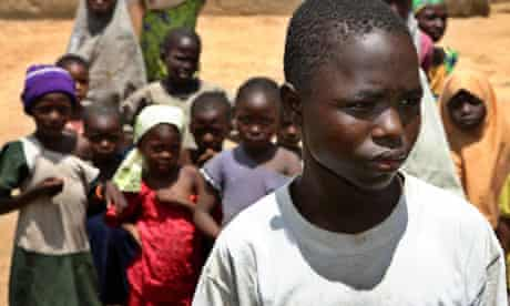 Anas Mustapha, one of the children given the experimental drug Trovan, pictured in 2007