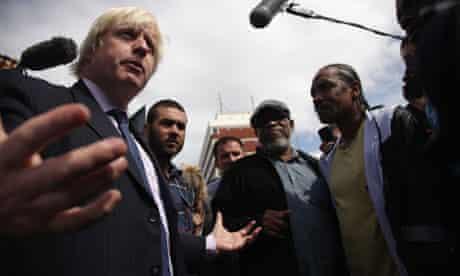 Boris Johnson in Enfield