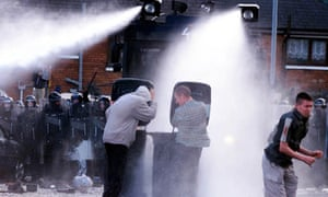 Water cannon ireland