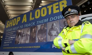 Greater Manchester Police's 'Shop a Looter' van