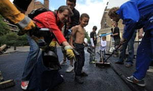 Clean Up Across London after riots