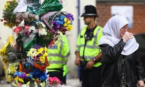 Mourning for Birmingham riot victims